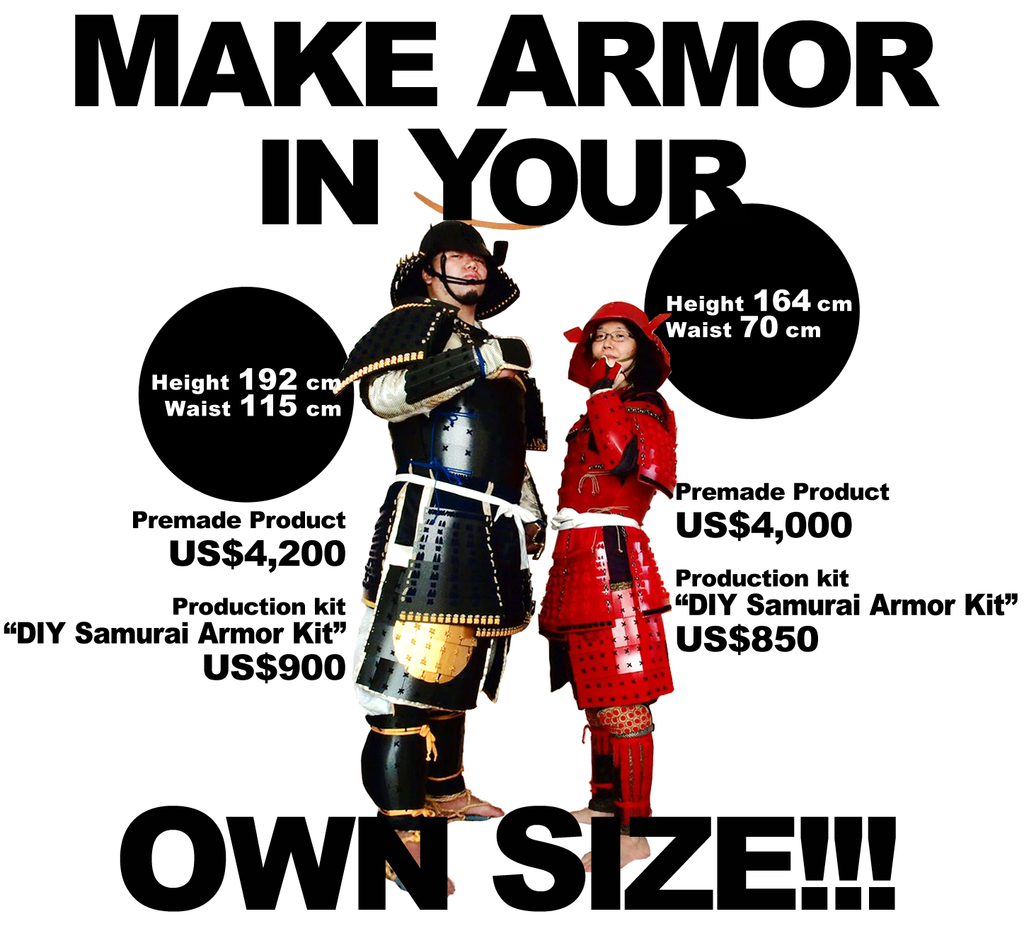 make armor in your own size