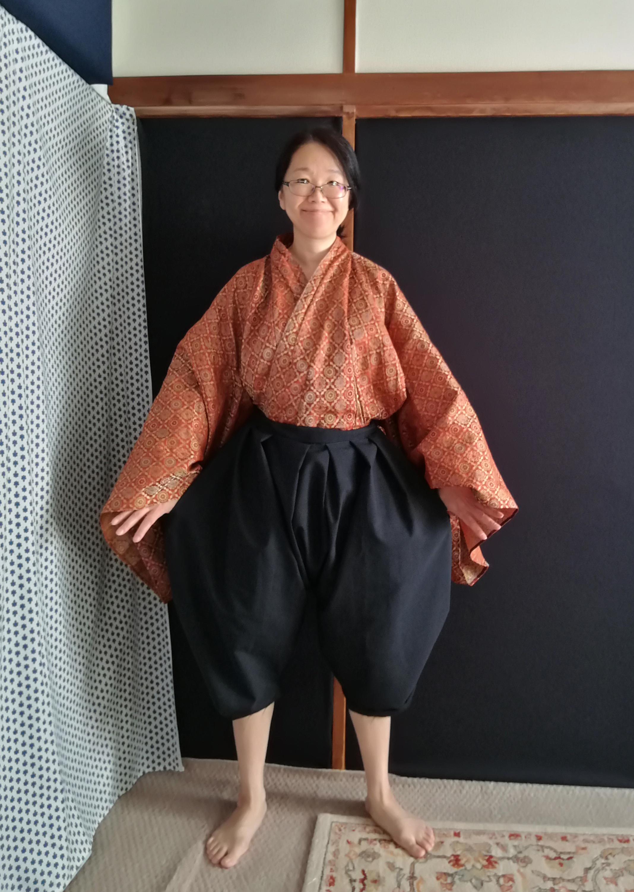 Japanese clothing 17th century